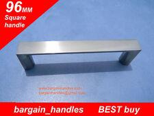 Solid,Metal,Kitchen,Cabinet,Bathroom,Cupboard Door/Drawer Square handles 23x96mm