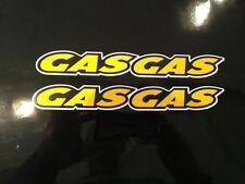 Gas Gas trial bike/Motorbike stickers/decals x2 in set
