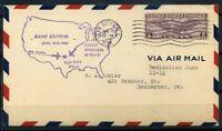 Stati Uniti 1932 Mi. 321 Busta 100% Elk City OKLA