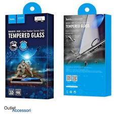 Pellicola Vetro Temperato HOCO iPhone 7 Plus Bianco bordi 3d Radiant 9h curva HD