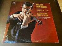 Presenting Erick Friedman~RCA SHADED DOG LABEL~INNER~Paganini, Saint Saens~Hendl