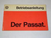 Istruzioni Per L'Uso Manuale VW Passat B1, Stand 08/1974