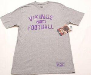 Minnesota Vikings Fran Tarkenton REEBOK NFL Gridiron Classic t-shirt, Size Large