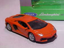 Lamborghini Aventador Lp700-4 2010 Welly 1/60 Diecast 1/64 Range Mint in Box