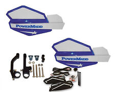 Powermadd Star Series Handguards Guards LED Kit Blue White Snowmobile Ski Doo