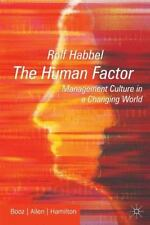 The Human Factor: Management Culture in a Changing World-ExLibrary