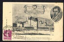 cpa Gravure Estampe 28 - Vue du CHÂTEAU de MEZIERES en DROUAIS démoli en 1777