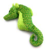 Plüschtier Kuscheltier Stoff Tier Seepferdchen grün Hippocampus 23 cm