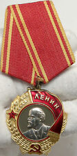 1943-91 Russia ORDER OF LENIN MEDAL Gold Platinum ANTIQUE Ribbon Medal i88179