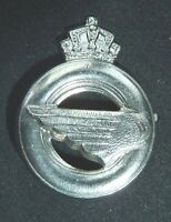 Belgium Belgian Army Logistics Corps Silver Coloured ORS Beret Badge