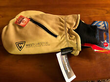 New ListingWestchester Protective Gear Leather Mitten With Hand Warming Pocket Size L