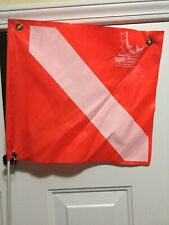 Scuba Snorkeling Flag Bout And Weighted Pole Barely Used
