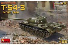 Miniart 37007 escala 1:35th T-54-3 Mod. 1951 con kit de interior