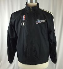 Vintage Utah Jazz Windbreaker Jacket Size Large Champion