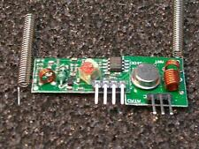 433.mhz 2x transmisor/transmisor & 2x receptor/receiver Arduino brazo + 4x antena,,