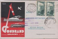 Pubblicitaria Gondrand Bologna splendida cartolina viaggiata