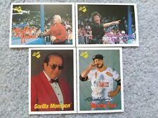 1989 Classic Wwf Wrestling Bobby Heenan Sherri Gorilla Monsoon Brooklyn Brawler