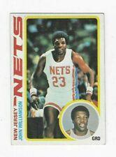 1978-79 TOPPS JOHN WILLIAMSON #11 NEW JERSEY NETS