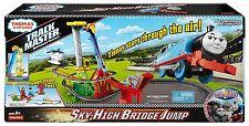 Fisher Price Thomas the Train TRACKMASTER, Sky High Bridge Jump Kids TRAIN SET