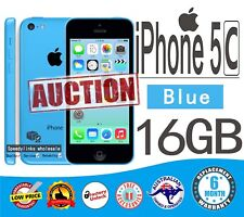 Apple iPhone 5C 16GB BLUE Smartphone 4G as NEW UNLOCK FAST Shipping WARRANTY