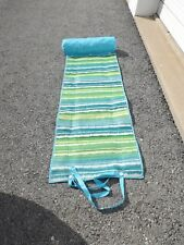 Beach Mat With Headrest