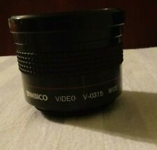 Ambico Video V-0315 Wide Angle Fish-Eye Lens Japan