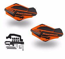 PowerMadd Sentinel Handguards Guards Kit Orange Black Snowmobile Snow Hayes