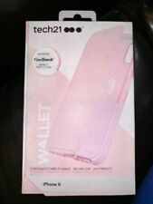#468 Tech21 Evo Wallet Case For iPhone X / XS   - Pink