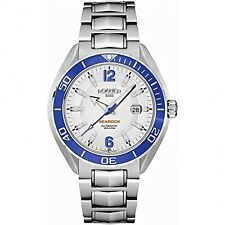 Roamer Men's Watch White Dial Silver Bracelet 211633 41 14 20 RRP £929