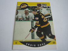 1990/91 PRO SET HOCKEY CRAIG COXE CARD #544***VANCOUVER CANUCKS***