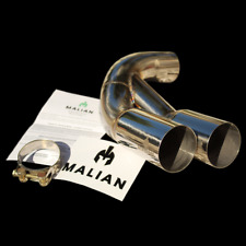 BMW 3/4 Series Exhaust Twin Tailpipes, F30/1/2/6, Dual Tips