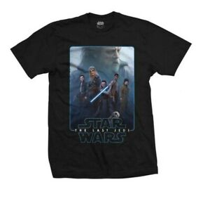 Star Wars Movie Characters Official Mens T-shirts Sizes S-XL Black New