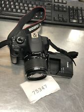 Canon Rebel T5 Digital Camera With Lens And Charger