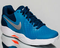 Nike Air Zoom Resistance Clay Men Neo Turq Metallic Silver Tennis 922064-400
