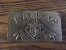 1986 Kansas Knights of Columbus William Oregon Belt Buckle Siskiyou 77 of 5000