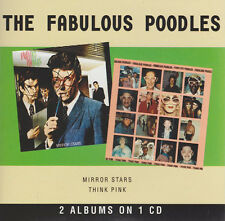 Mirror Stars/Think Pink by The Fabulous Poodles (CD, 2009, American Beat) 70202
