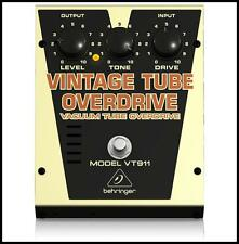Behringer Vintage Tube Overdrive VT911 Guitar Effects Pedal C/w Aust Adapter