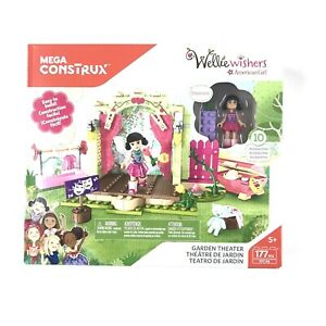 Mega Construx Wellie Wishers American Girl Garden Theater Playset 177 Pieces NEW