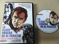 La Classe Ouvrière des Patchs VA Al Paradis DVD - Gian Maria Volonte