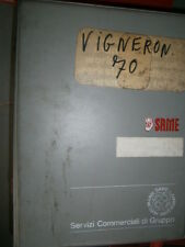 Same VIGNERON 70 1987 : catalogue de pièces