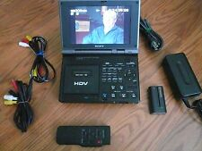 Sony GV-HD700 HD Video Walkman plays miniDV tapes 30 days warranty Y buy from me
