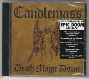 candelmass - cd - death magic doom (neuf scellé ,mint )