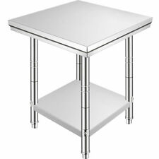 24x24x315 Commercial Stainless Steel Restaurant Kitchen Food Prep Work Table