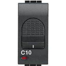 BTICINO MAGNETOTERMICO 1P+N 6A 1,5KA L4301/6 LIVING INTERNATIONAL