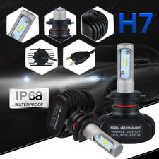 50W 8000LM LED Headlight Bulbs H7 For Dodge Ram 2500 00-04 Ford Old Car 00-09