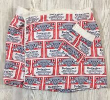 Vintage Budweiser Wearable Towel Wrap