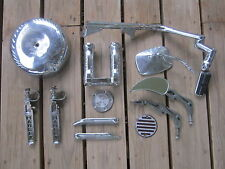 Lot of Misc MOTORCYCLE PARTS Harley Davidson [Z314]
