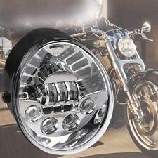 Chrome Projector Hi/Lo LED Headlight For Harley VRod V-rod VROD VRSC VRSCA VRSCF