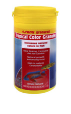 Sera Tropical Colour Granules African Cichlid Fish Food 135g