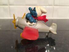 Vintage Peyo/schleich Aeroplane Super Smurf/Schtroumpf/Schlumpf.